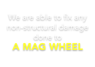 Mag wheels can indeed make or break the look of a vehicle