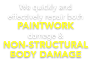As specialists in motor body repairs, the team at Dent Magic can assist with all kinds of damages that did not damage the actual structure of your vehicle.