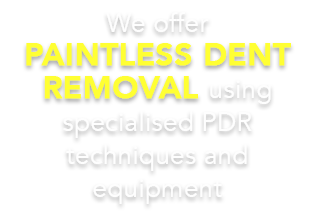 If the damage to your vehicle adheres to the above mentioned requirements, it is suitable for PDR!
